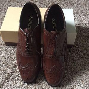 Florsheim Lexington Wingtip Oxford men's shoes NEW